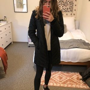 Columbia omniheat long puffer coat